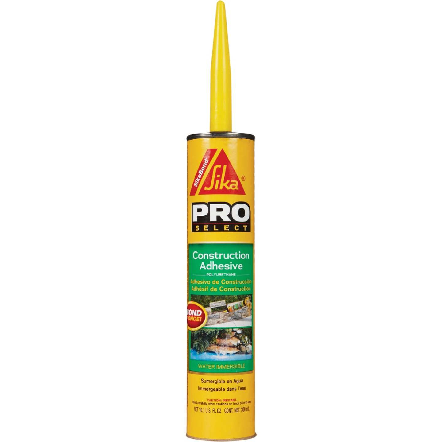SikaBond Pro Select 10 Oz. High Performance Construction Adhesive Image 1