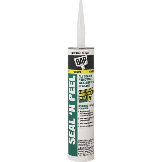 DAP SEAL 'N PEEL 10.1 Oz. Removable Weather Stripping Sealant