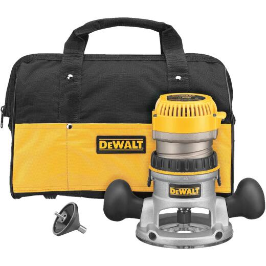 DeWalt 11.0A 24,000 rpm Router Kit