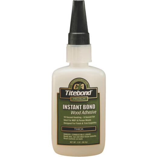 Titebond 2 Oz. Instant Bond Thick Viscosity CA Wood Glue