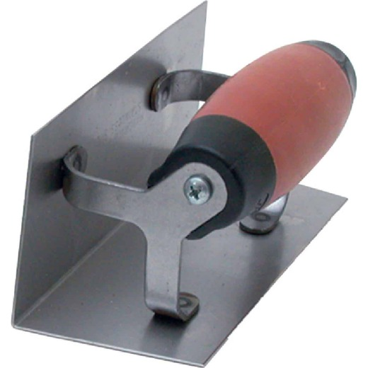 Marshalltown 2-1/2 In. x 6 In. Corner Finishing Trowel with DuraSoft Handle