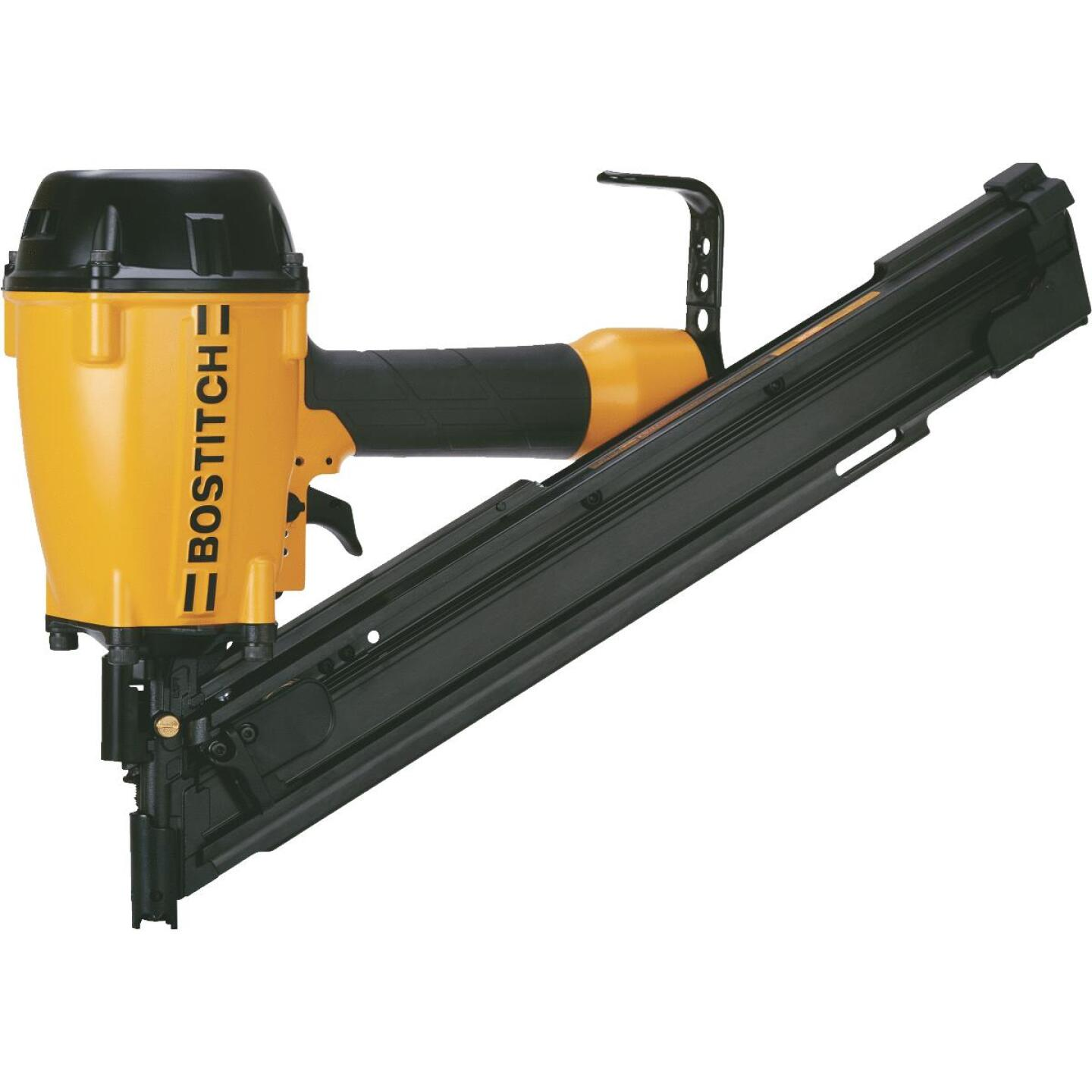 Bostich 30 Degree 3-1/4 In. Paper Tape Low Profile Framing Nailer Image 1