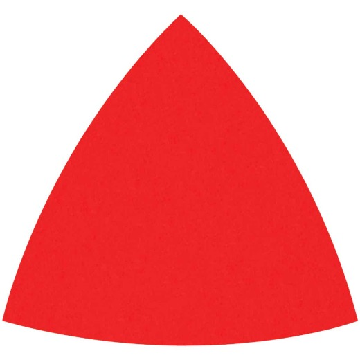 Diablo 80-Grit (Coarse) 3-1/8 In. Oscillating Detail Triangle Sanding Sheets (10-Pack)