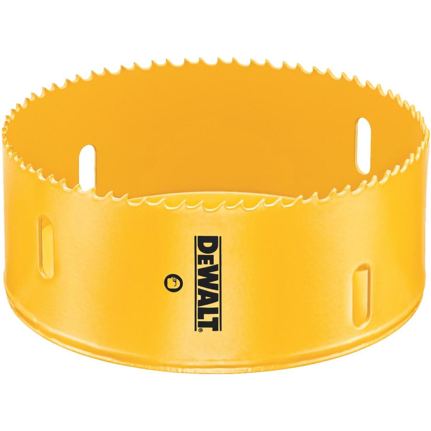 DeWalt 4 In. Bi-Metal Hole Saw Image 1