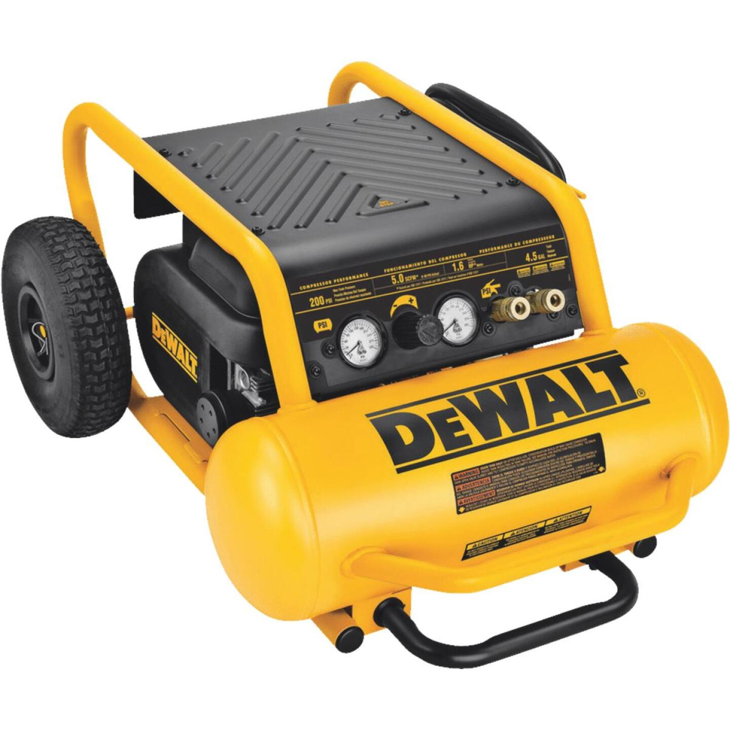 DeWalt 4-1/2 Gal. Portable 200 psi Air Compressor Image 1