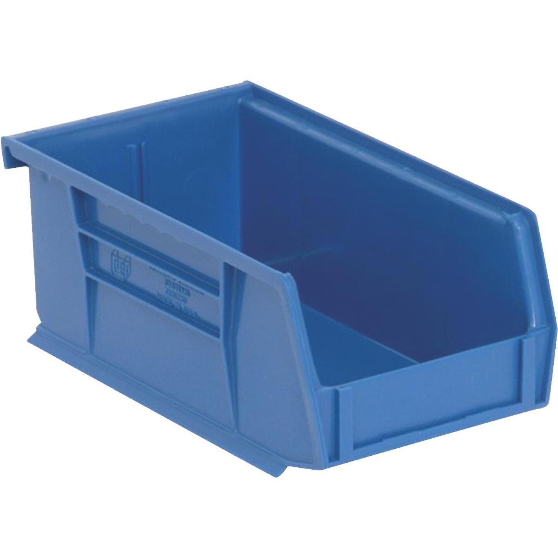 Quantum Storage Small Blue Stackable Parts Bin  Image 1