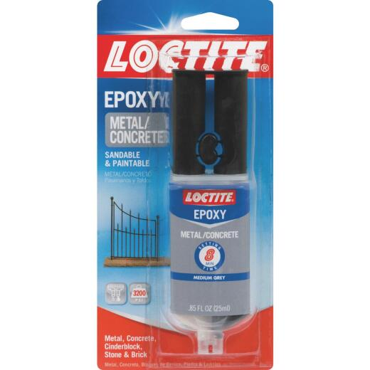 LOCTITE 0.85 Oz. Metal/Concrete Epoxy