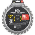 Do it Best 10 In. 28-Tooth Framing & Ripping Circular Saw Blade Image 1