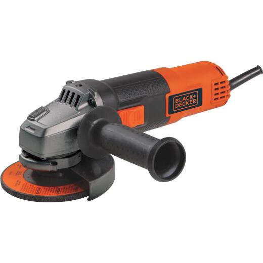Black & Decker 5.5A 4-1/2 In. Angle Grinder