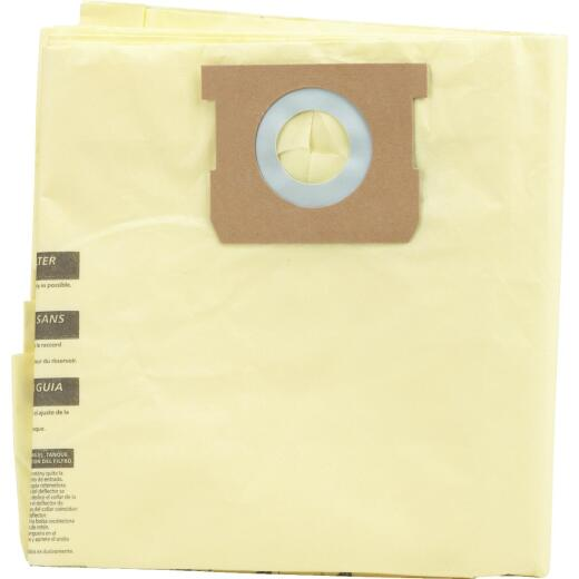 Channellock Paper High Efficiency 8 to 10 Gal. Filter Vacuum Bag (3-Pack)