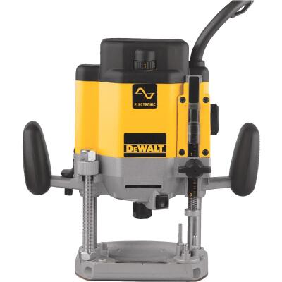 DeWalt 3 HP/15A 8000  to  22,000 rpm Plunge Router