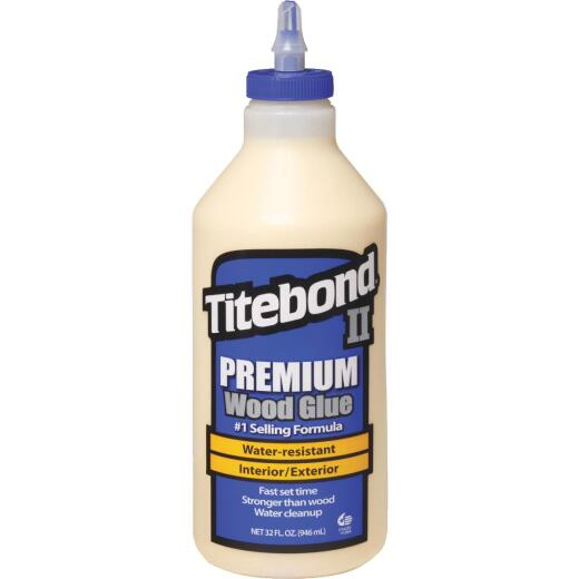Titebond II 1 Qt. Premium Wood Glue