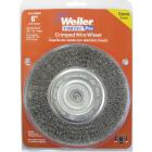 Weiler Vortec 6 In. Crimped, Coarse Bench Grinder Wire Wheel Image 2