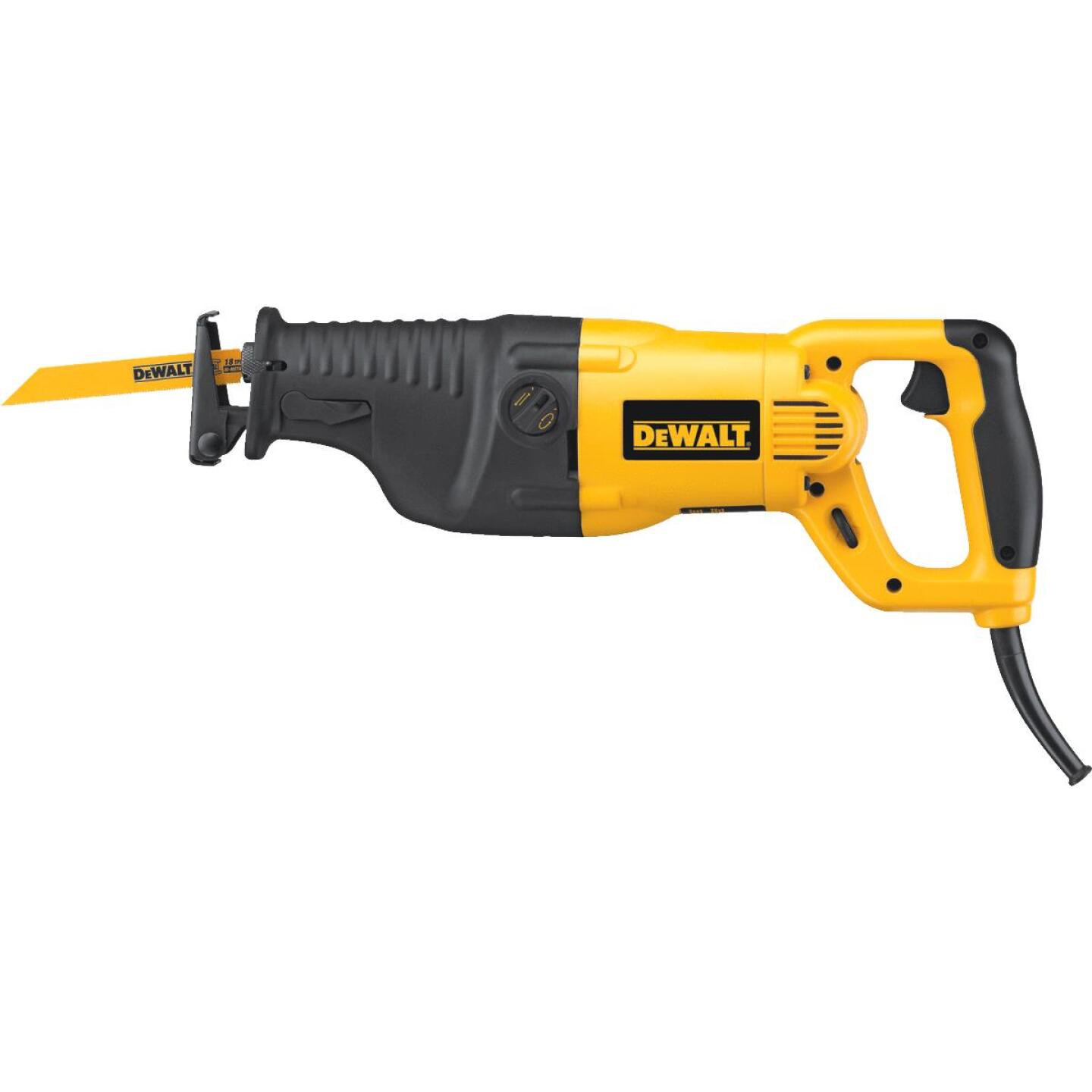 DeWalt 13-Amp Reciprocating Saw Kit Image 2