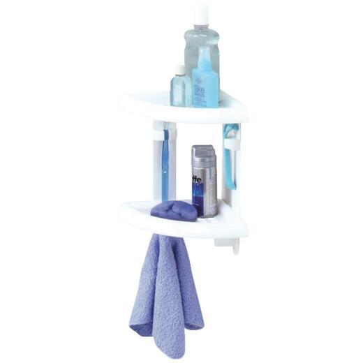 Zenith Plastic 10-1/2 In. x 11 In. Shower Caddy