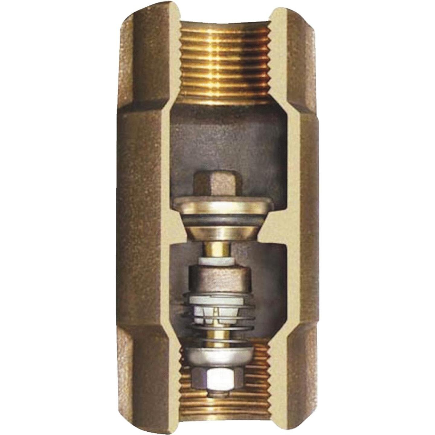 Simmons 1-1/4 In. Silicon Bronze Lead Free Check Valve Image 1
