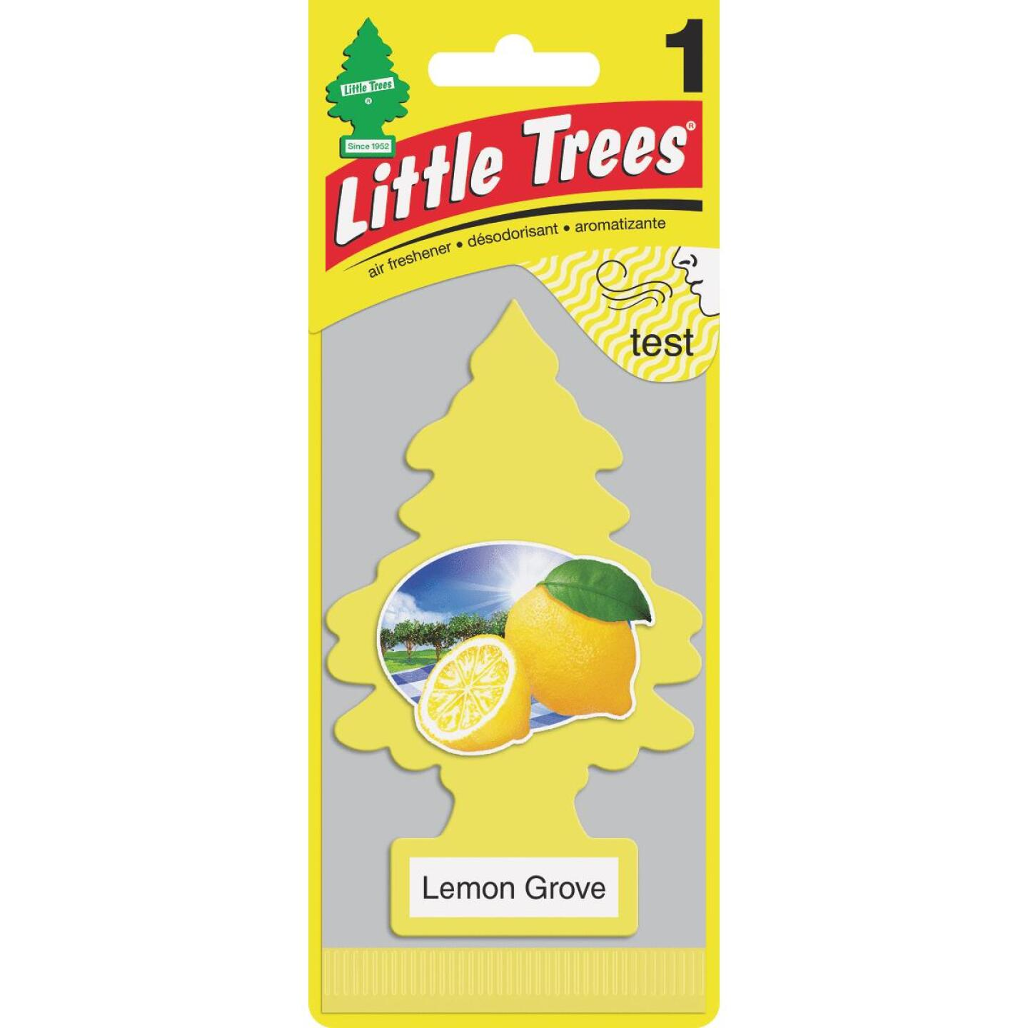 Little Trees Car Air Freshener, Lemon Grove Image 1