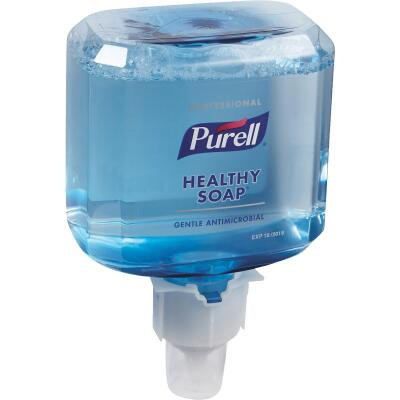 Purell ES4 Professional Healthy Soap Antimicrobial Foam 1200 mL Hand Cleaner for Push-Style Dispenser