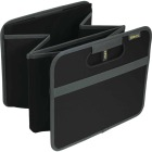 Meori 2-Compartment Lava Black Foldable Reusable Box Image 2