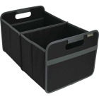 Meori 2-Compartment Lava Black Foldable Reusable Box Image 1
