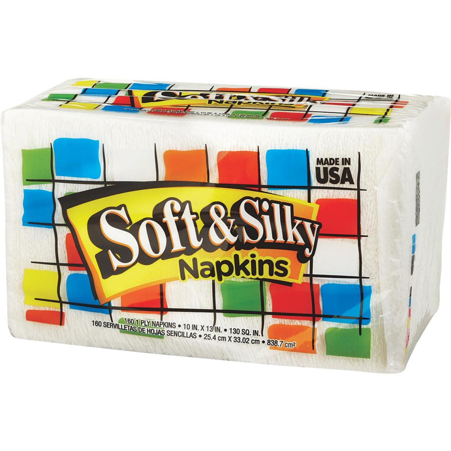Soft & Silky Paper Napkins (160 Count) Image 4