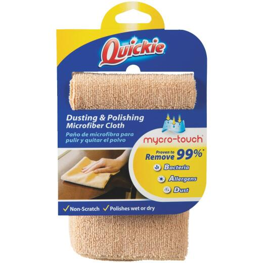 Quickie 13 In. x 15 In. Dusting & Polishing Microfiber Cloth