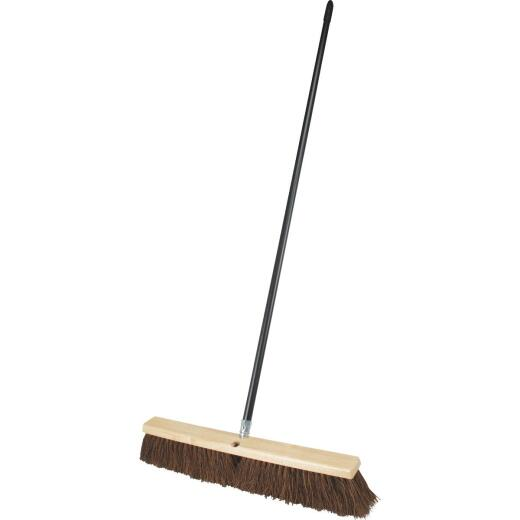 Do it Best 24 In. W. x 60 In. L. Metal Handle Pavement Plus Push Broom