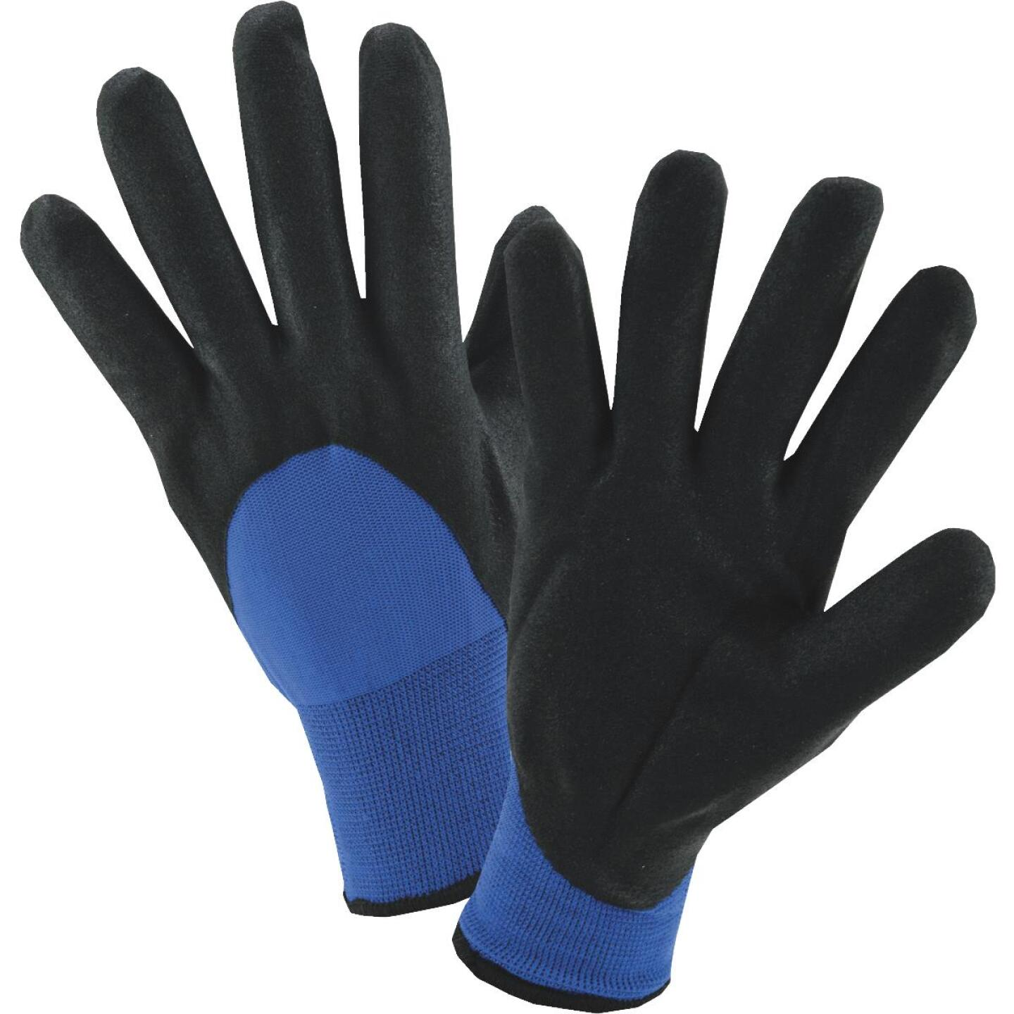 West Chester Men's Large Nitrile Coated Nylon Winter Glove Image 1
