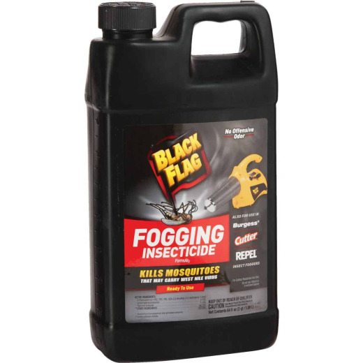 Black Flag 64 Oz. 1-Acre Coverage Outdoor Fogger Insecticide