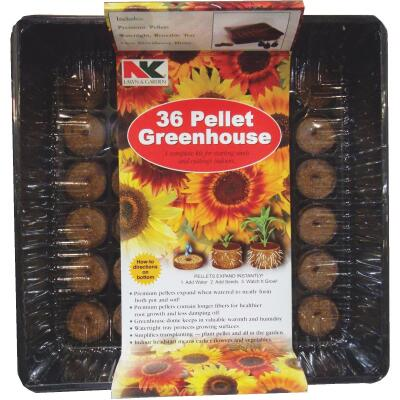NK 36-Cell Professional Greenhouse Seed Starter Kit