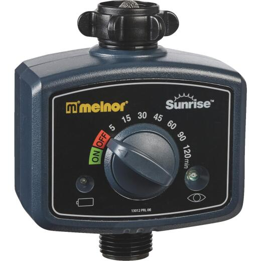 Melnor Sunrise Electronic 1-Zone Water Timer