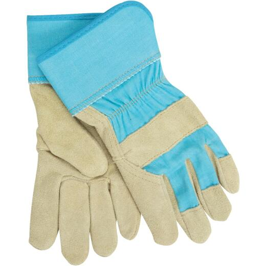 West Chester Protective Gear Dirty Work Women's Medium Leather Work Glove