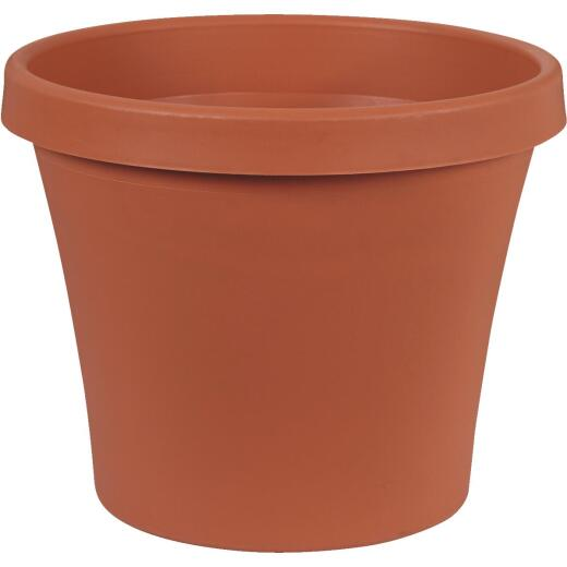 Bloem 16 In. Dia. Terracotta Poly Classic Flower Pot