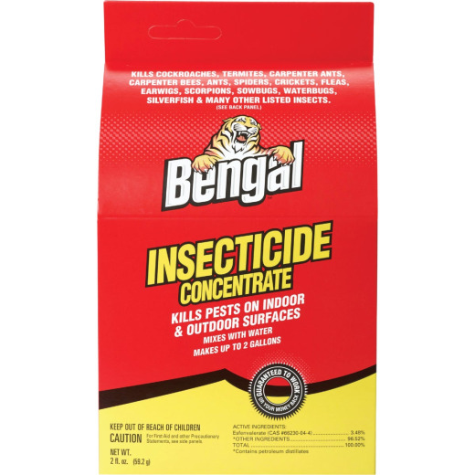 Bengal Insect Killer Concentrate, 2 Oz.