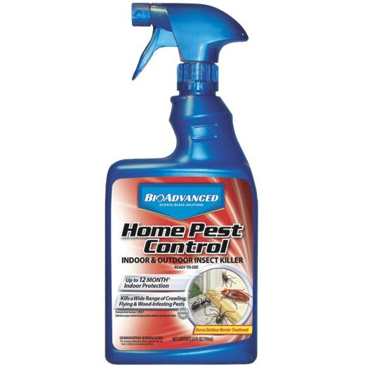 BioAdvanced Complete  Home Pest Control 24 Oz. Ready To Use Trigger Spray Insect Killer