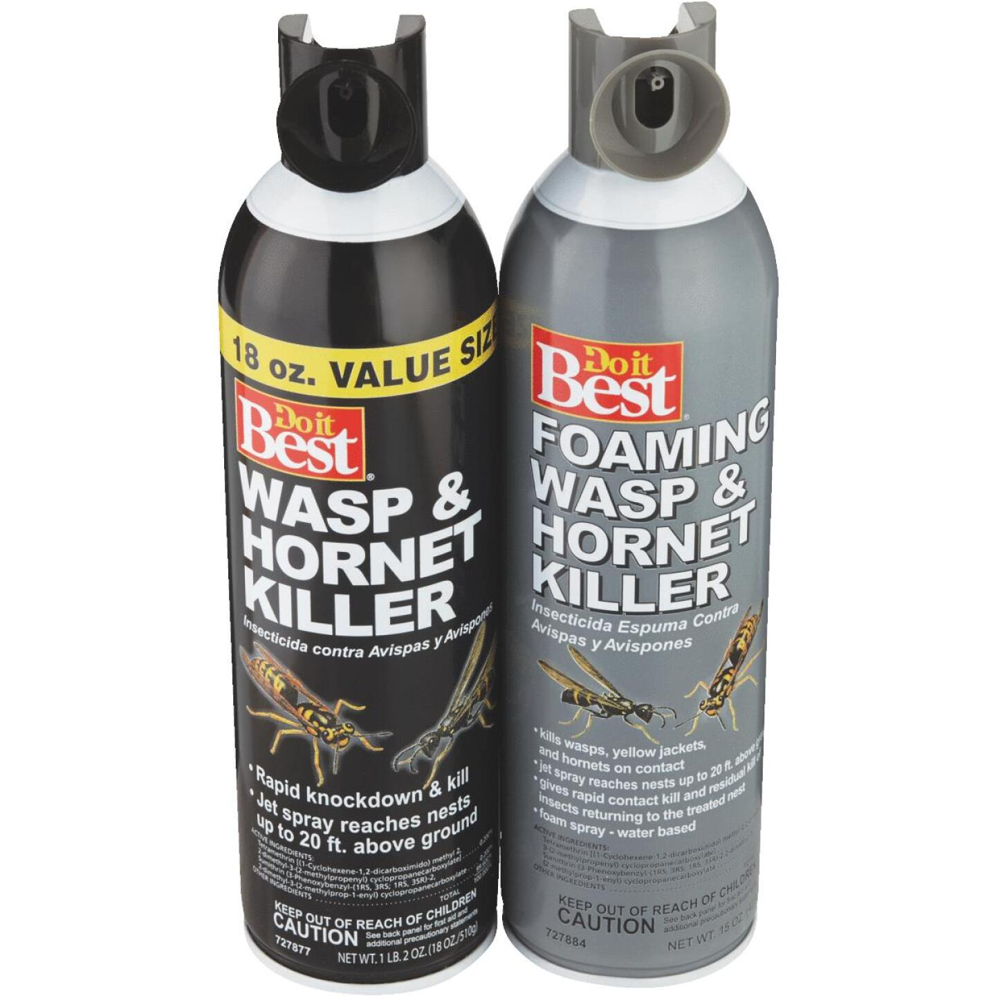 Do it Best 17.5 Oz. Liquid Aerosol Spray Wasp & Hornet Killer Image 3