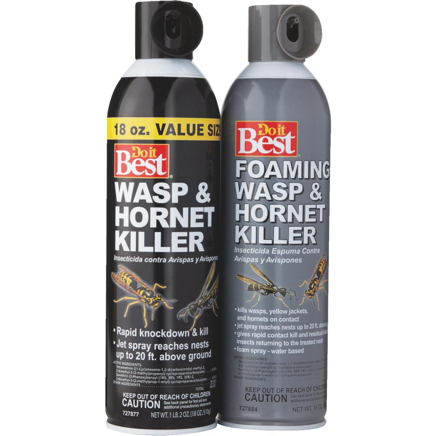 Do it Best 17.5 Oz. Liquid Aerosol Spray Wasp & Hornet Killer Image 4