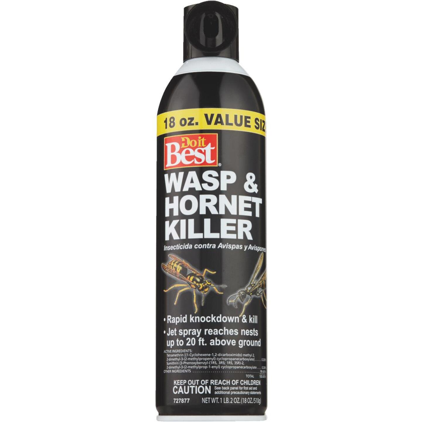Do it Best 17.5 Oz. Liquid Aerosol Spray Wasp & Hornet Killer Image 5