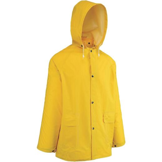 West Chester Large Yellow PVC Raincoat