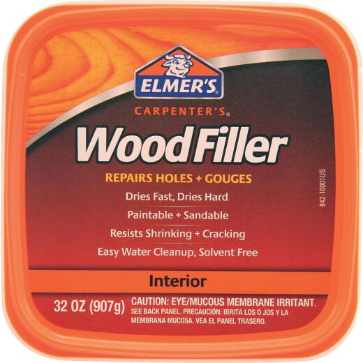 Elmer's Carpenter's Light Tan 32 Oz. Wood Filler