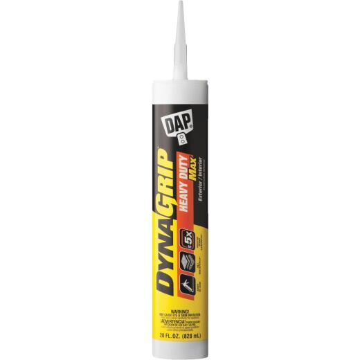 DAP DYNAGRIP 28 Oz.Heavy Duty Max Construction Adhesive