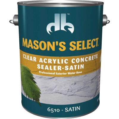 Duckback Mason's Select Clear Satin Concrete Sealer, 1 Qt.