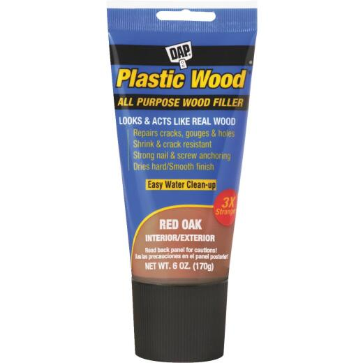 Dap Plastic Wood 6 Oz. Red Oak All Purpose Wood Filler