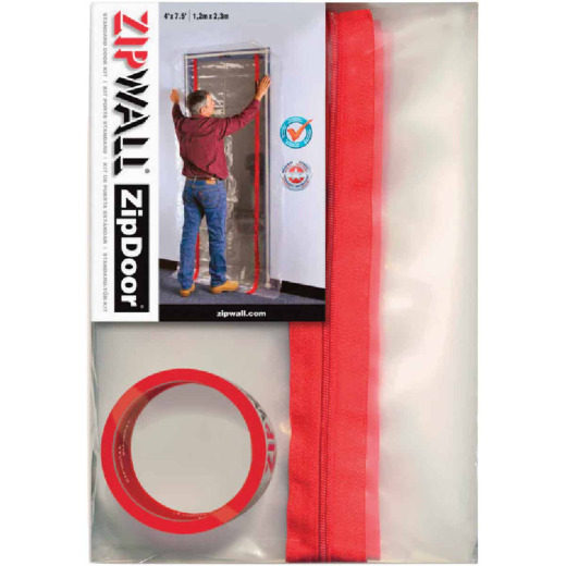 ZipWall ZipDoor Dust Containment Kit