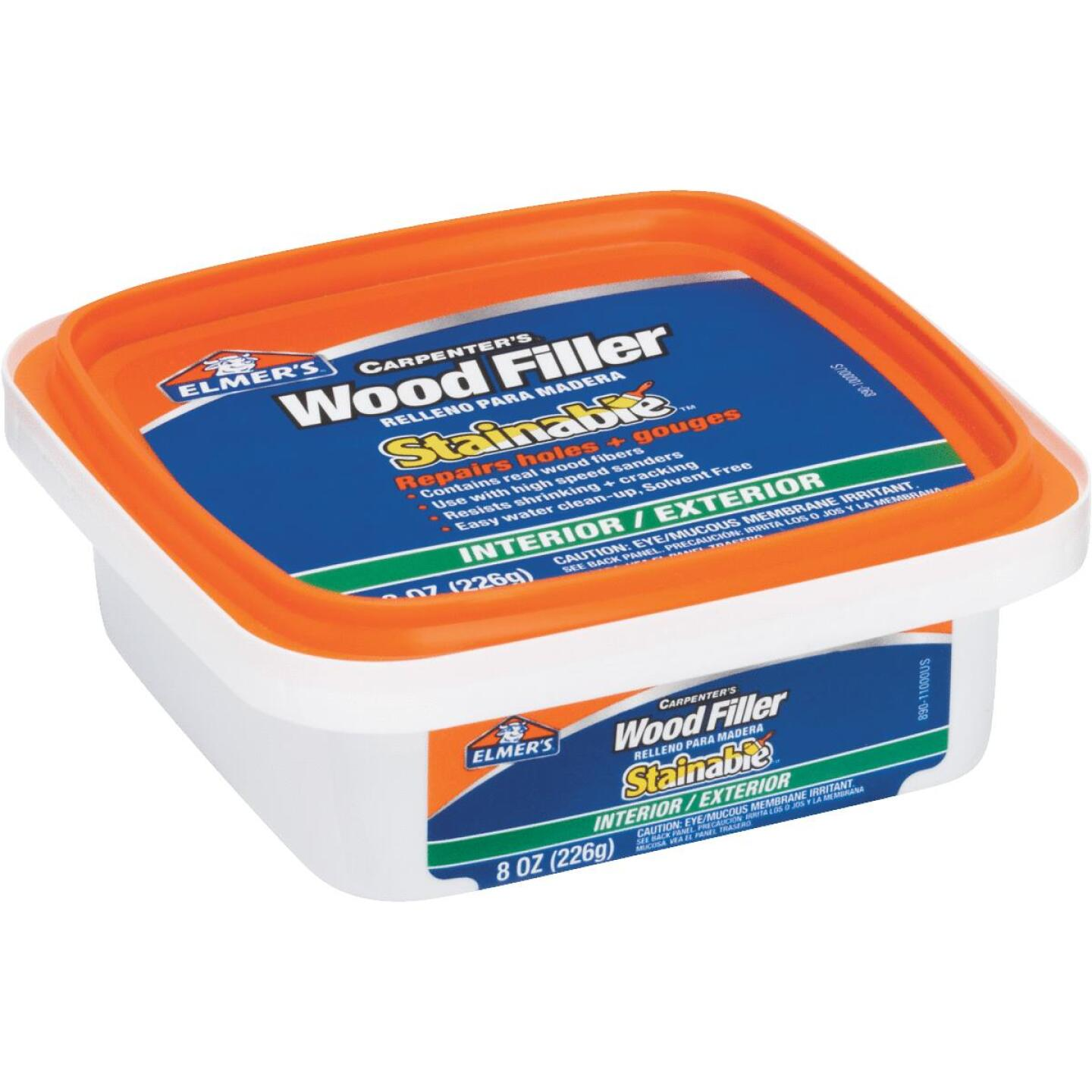 Elmer's Stainable Light Tan 8 Oz. Wood Filler Image 2