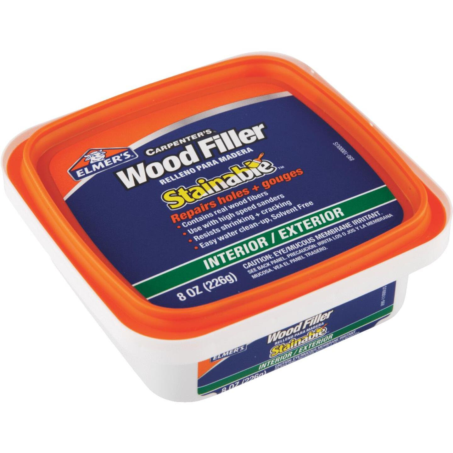 Elmer's Stainable Light Tan 8 Oz. Wood Filler Image 5